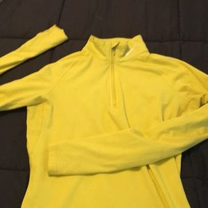 Ladies Nike half zip pullover
